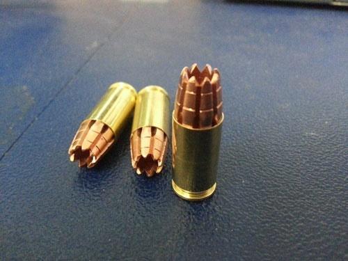 ساخت مرگبارترین گلوله سلاح های کمری