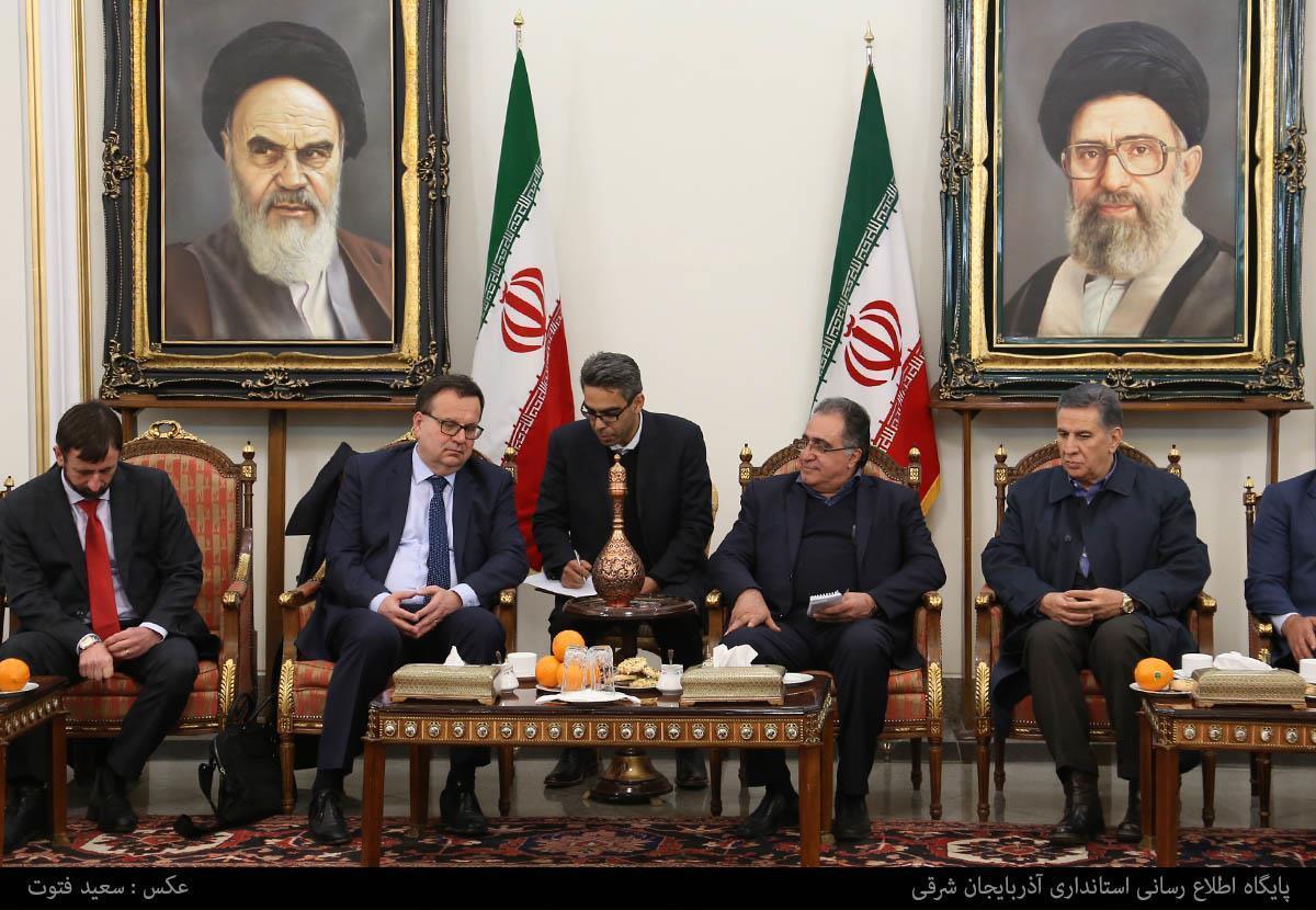 سفر وزیر صنعت جمهوری چک به تبریز