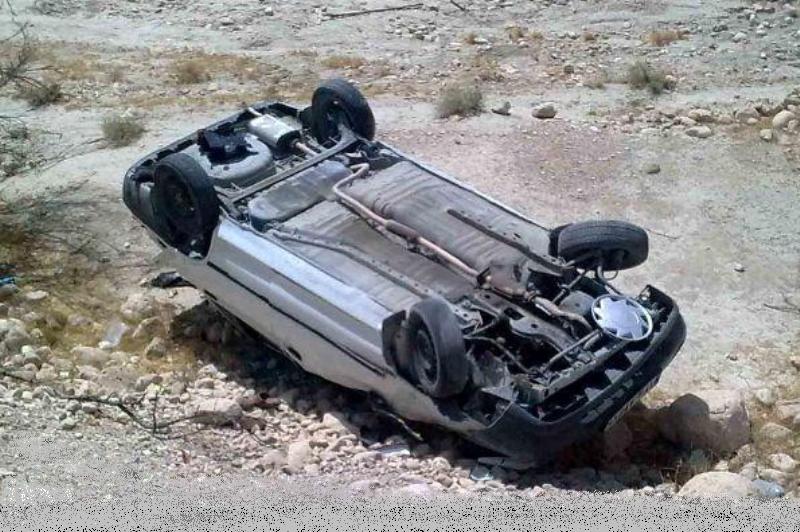 سه مورد واژگونی در جاده تبریز ارومیه درکمتراز ۱۰دقیقه.