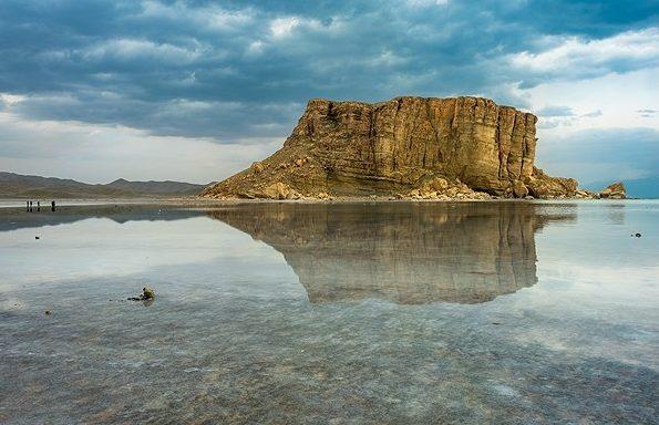 افزایش ۱۱ کیلومتر مربعی وسعت دریاچه ارومیه / جدول مقایسه ای