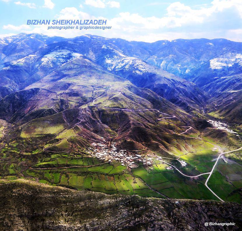 زیبایی های استان آذربایجان شرقی از فراز آسمان / عکس