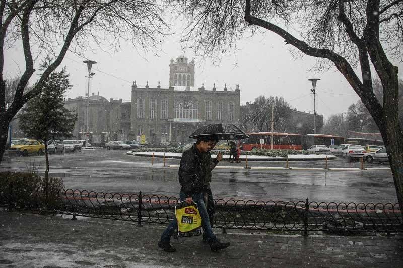 نفوذ سامانه بارشی قوی و فعال از روز شنبه به آذربایجان شرقی