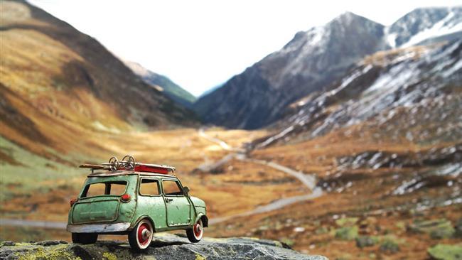 سفر به دور دنیا با خودرو های کوچک / تصاویر