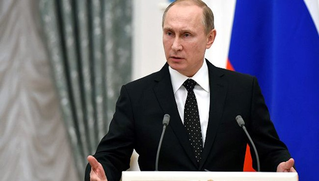 پوتین: روسیه مصمم به توسعه همکاری ها در همه حوزه ها با جمهوری اسلامی ایران است