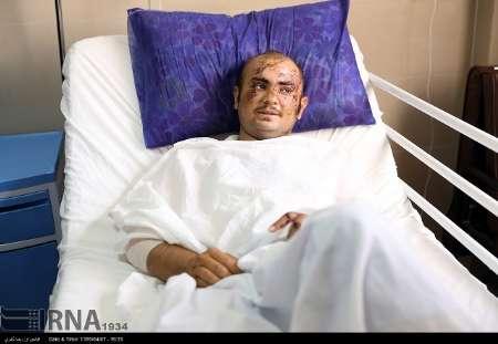 سه نفر از سربازان ، از بیمارستان شهید رجایی شیراز ترخیص شدند