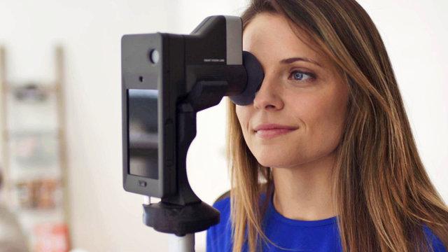 آزمایش چشم با موبایل!