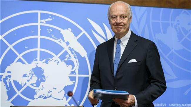 فرستادۀ ویژه سازمان ملل در امور سوریه به تهران سفر می کند
