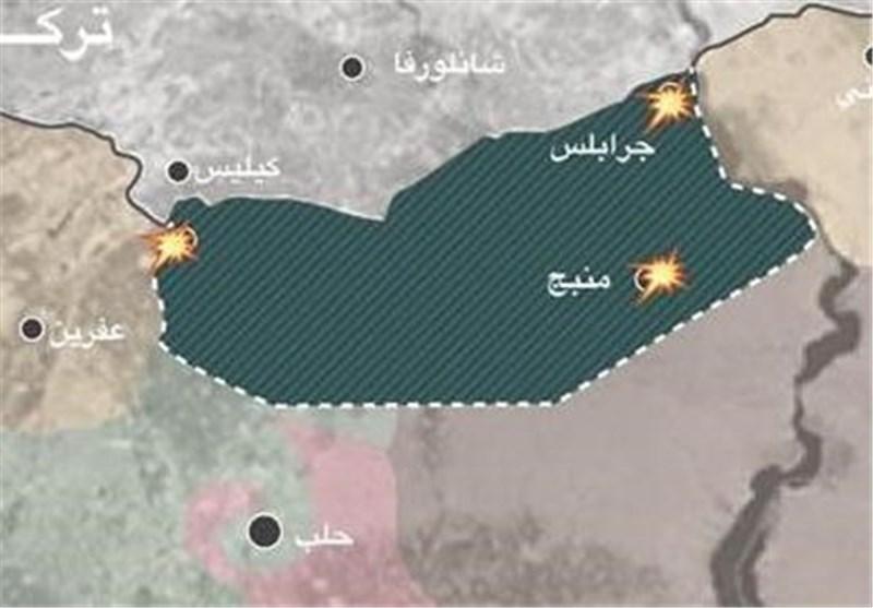 فرار تروریستها از «منبج» با سپر انسانی؛ ۱۵ هزار غیرنظامی سپر بلای داعش شدند