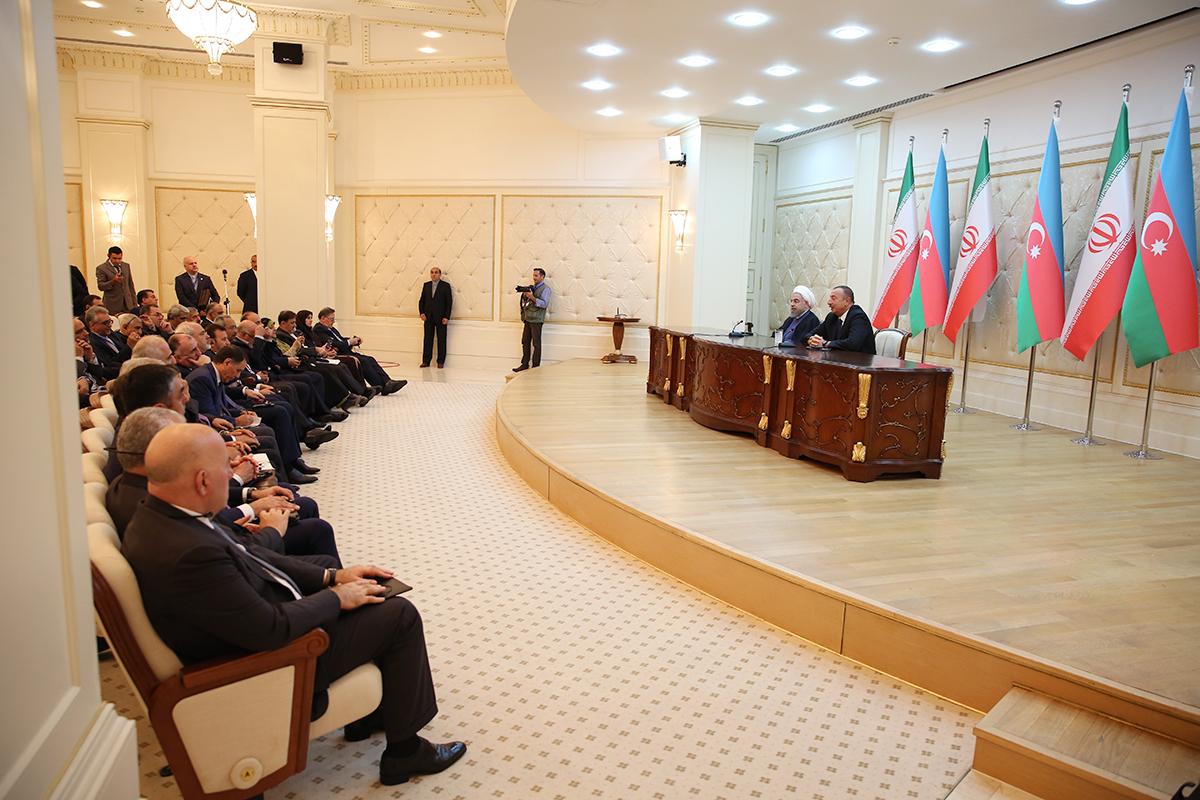 ایران و آذربایجان برای توسعه همه جانبه مناسبات و همکاریها، عزم راسخ دارند