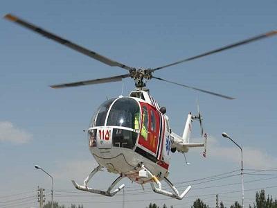 بالگرد اورژانس هوائی به سمت هشترود پرواز کرد