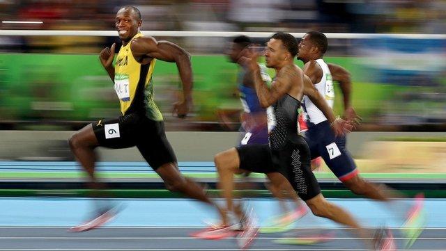 عکس لبخند «بولت» به یادماندنی ترین عکس المپیک ریو / عکس