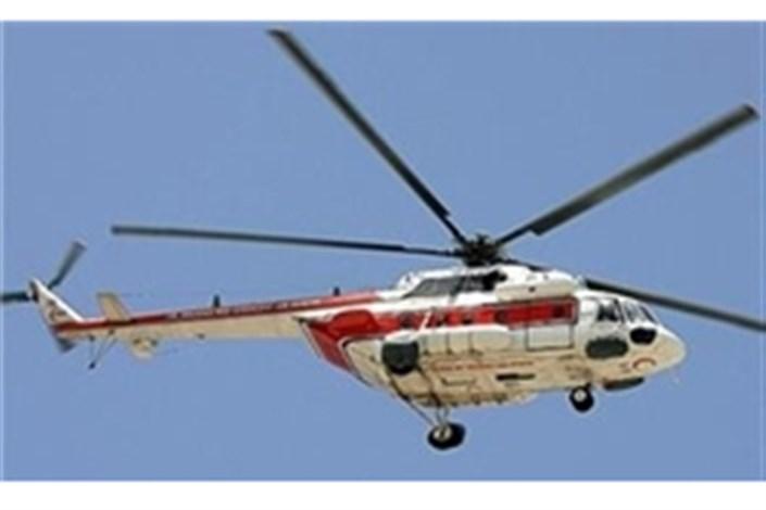 بالگرد اورژانس هوائی به بیمارستان صحرائی خداآفرین اعزام شد