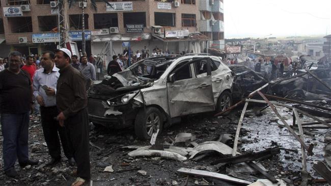۳ کشته در انفجار خودروی بمب گذاری شده در جنوب شرق ترکیه