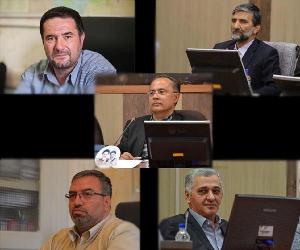 دبیری برای چهارمین سال متوالی رئیس شورای شهر تبریز شد/ششگلانی به عنوان نایب رئیس شورا انتخاب شد