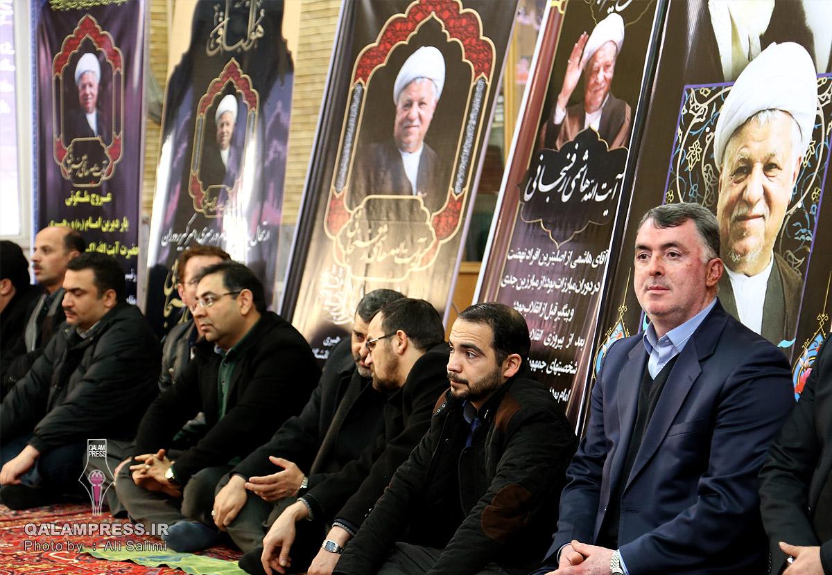 مجلس شب هفت حضرت آیت الله هاشمی رفسنجانی + گزارش تصویری
