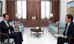 بشاراسد: حضور تروریستها و تحریمهای غرب علت اصلی آواره شدن مردم سوریه است