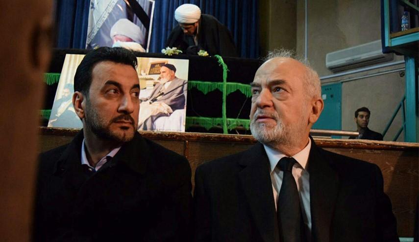 وزیر خارجۀ عراق در تشییع پیکر آیت الله هاشمی