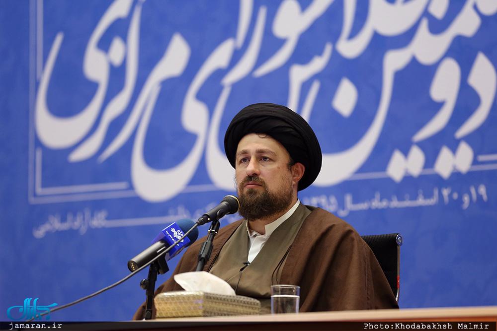 سید حسن خمینی: «اعتدال» خلاصه شخصیت آیت الله هاشمی است/ بیارزشترین سیاستمدار و مدیر کسی است که از دشنام بترسد