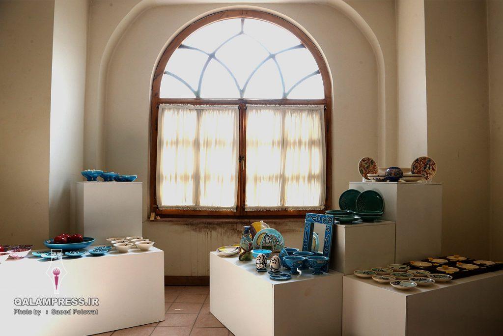نمایشگاه نوروزانه 96موزه زنده سفال تبریز - 08