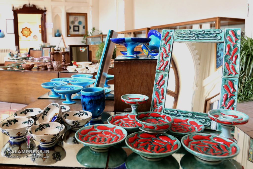 نمایشگاه نوروزانه 96موزه زنده سفال تبریز -12