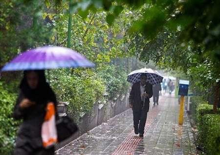 ورود سامانه بارشی جدید به برخی از نقاط کشور /افزایش بارش ها در غرب و استان های شمالی کشور طی روز شنبه