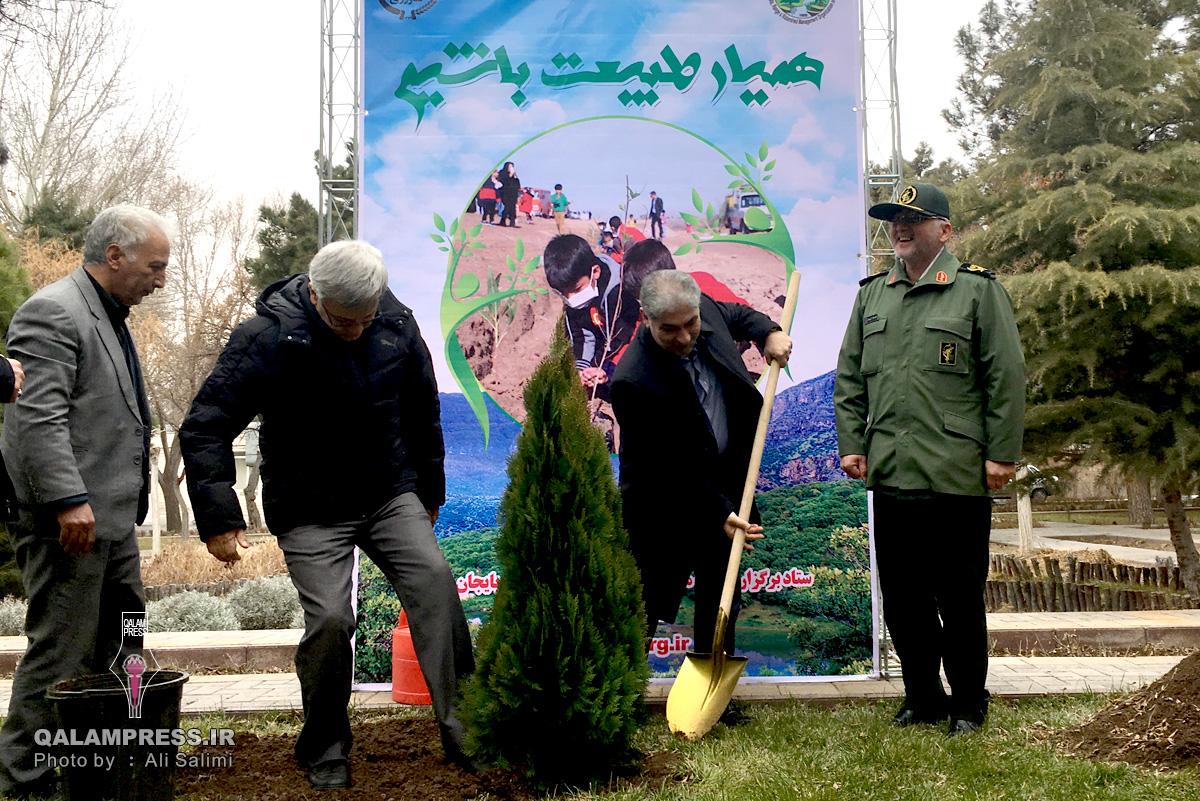 شهرداران بخشی از اعتبارات خود را به توسعه فضای سبز بدهند / وجود ۱۹۰ هزار هکتار فضای جنگلی در استان