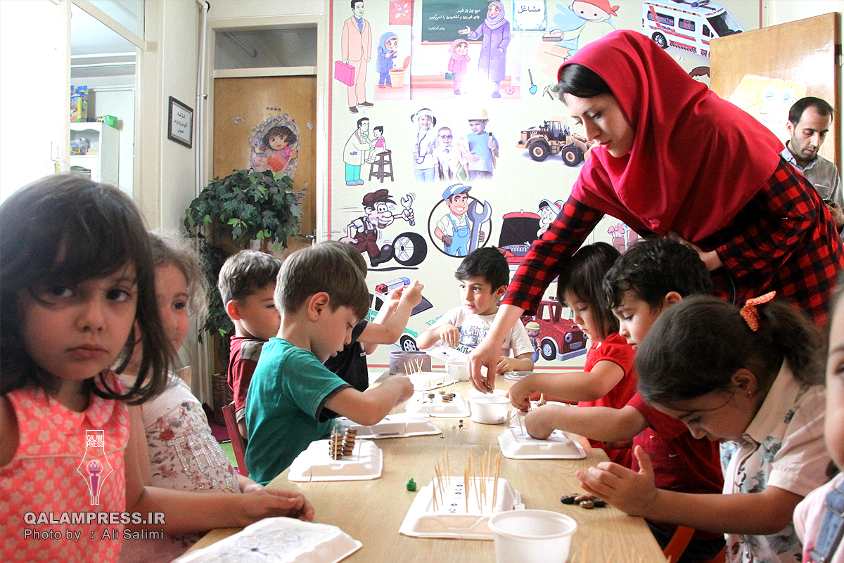 فرهنگسرای مشارکتی کودک و خانواده +گزارش تصویری