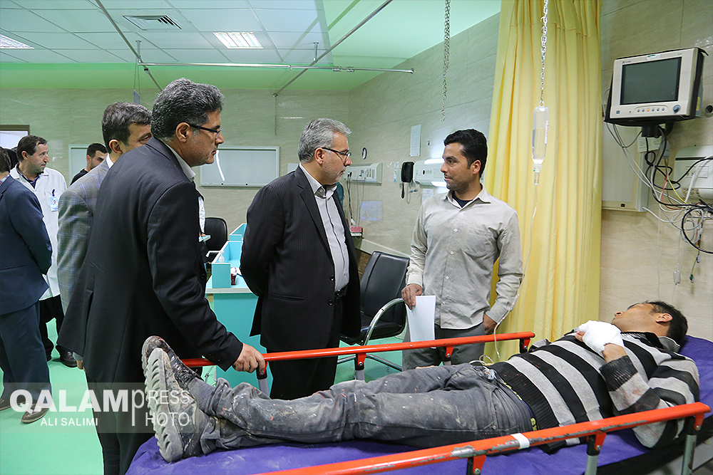 بازدید مدیرکل اجتماعی استاندار از وضعیت بیمارستان شهدا تبریز + گزارش تصویری