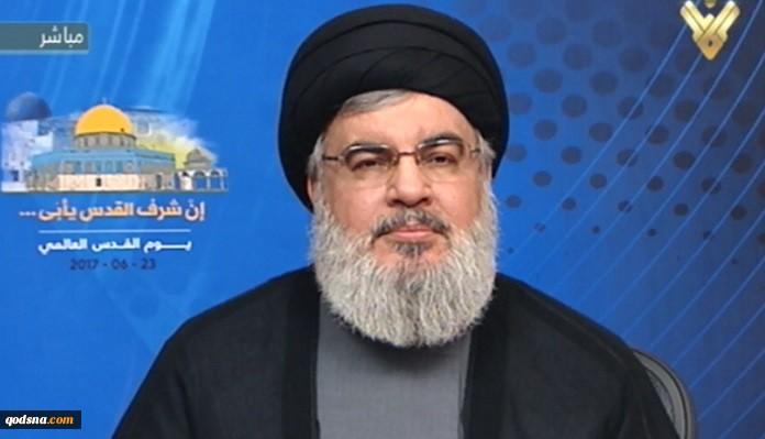 سید حسن نصرالله: غرب برای یک نمایش شیمیایی در سوریه آماده میشود/ کسانی داعش را شکست دادند که در منطقه جنگیدند نه آمریکایی ها