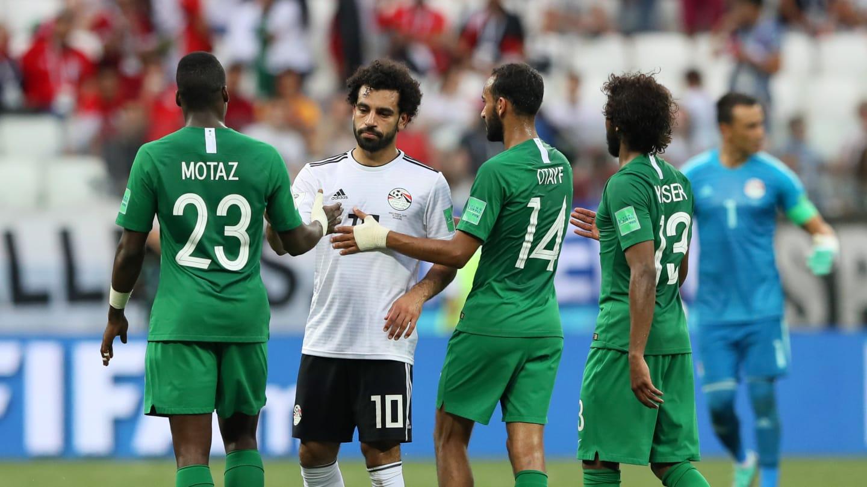 عربستان ۲- مصر ۱ / پایان خوش برای سعودی ها/ پایانی تلخ برای مصر وقتی محمدصلاح بهترین بازیکن دیدار شد