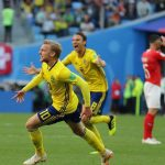 سوئد ۱- سوئیس ۰/ سوئد به جمع۸ تیم برتر پیوست