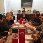 رابطه ترکیه و آمریکا هیچ تاثیری روی رابطه ترکیه با ایران نخواهد داشت/ایجاد راه ریلی تبریز بهوان