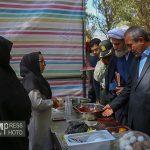 بازدید استاندار از جشنواره ی غذاهای سنتی هریس/ گزارش تصویری