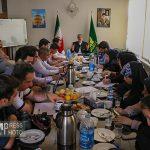 نشست خبری مسوول نمایندگی دفتر آستان قدس رضوی در آذربایجان شرقی+ گزارش تصویری