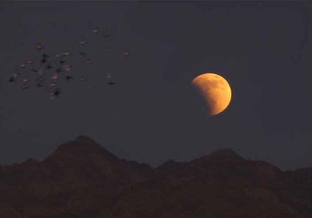 بهترین موقعیت برای رصد ماه گرفتگی امشب عرض جغرافیایی تبریز است