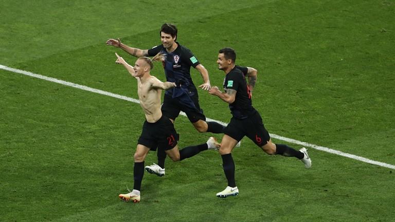 کرواسی ۲ (۴) – روسیه۲ (۳) / کروات ها تراژدی تلخ شکست را برای میزبان تحمیل کردند