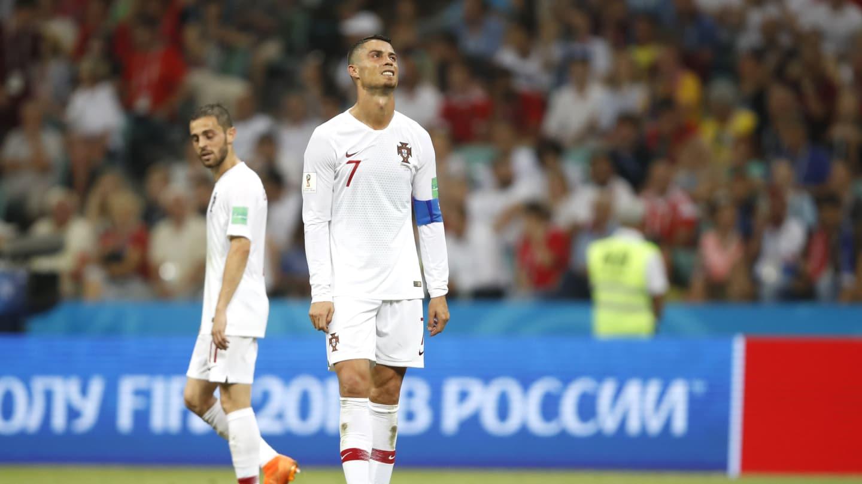 اروگوئه ۲- پرتغال ۱؛ تکرار روز تلخ مسی برای رونالدو