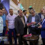 نمایشگاه بین المللی ملزومات چرم، کیف و کفش تبریز ۹۷ / بازدید مدیرعامل سازمان شهرکهای صنعتی از نمایشگاه