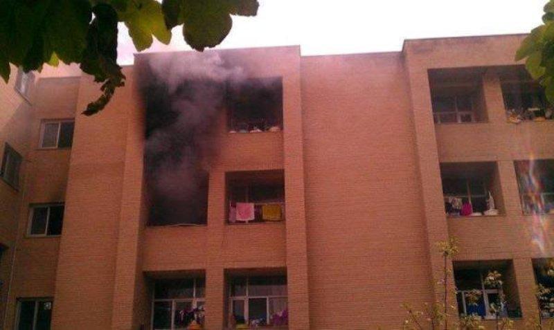 جزئیات آتش سوزی خوابگاه دانشجویی در تبریز