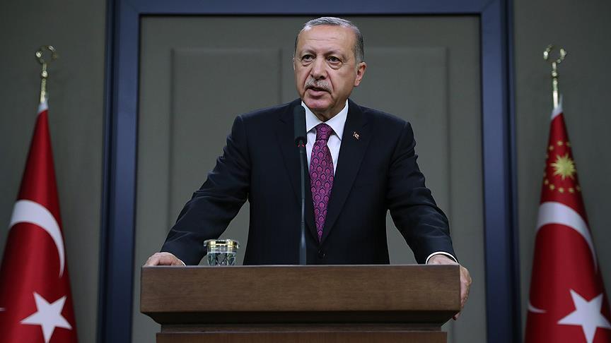 اردوغان: همراه مردم سوریه با ظالمان مبارزه می کنیم /آنهایی که دست به قتلعام هزاران نفر زدند ما را متهم به کشتن غیرنظامیان میکنند،