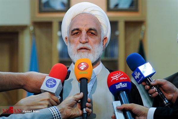 واکنش محسنی اژه ای به سوالی در مورد انتخابش به ریاست قوه قضائیه