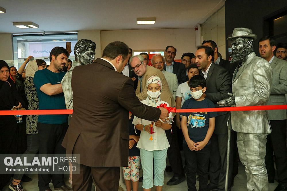 پنجمین نمایشگاه نقاشی کودکان مبتلا به سرطان + گزارش تصویری