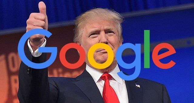 انتقاد ترامپ این بار از گوگل
