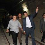 بازدید اعضاء اتحادیه قطار شهری کشور از مترو تبریز