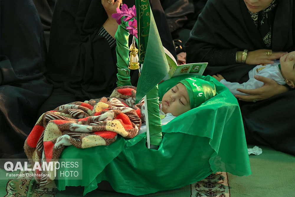 همایش شیرخوارگان حسینی تبریز بهروایت تصویر