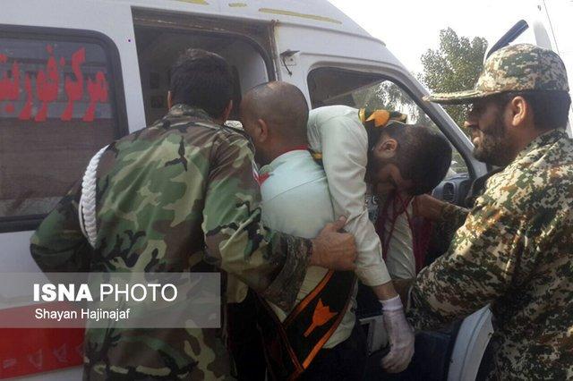 حمله تروریستی به رژه نیروهای مسلح در اهواز/۲ عامل حادثه تروریستی به هلاکت سیدند