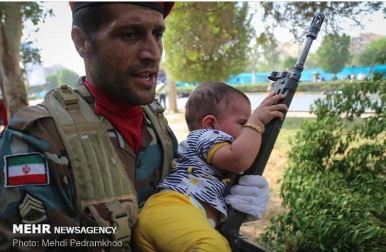 تصاویری از زمان حمله تروریستی در اهواز