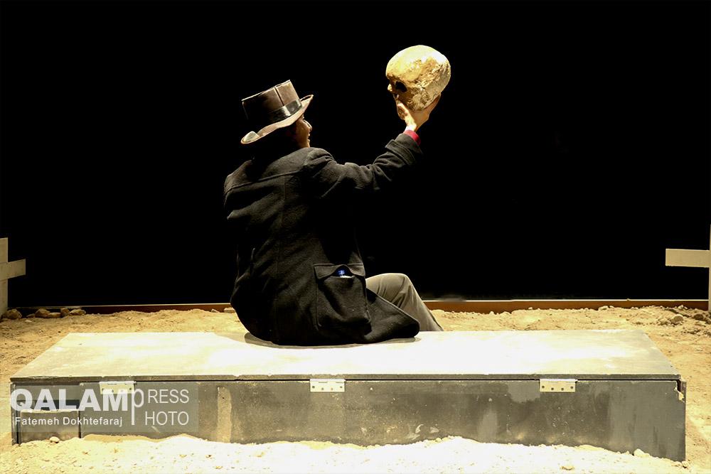 نمایش «مارکس در سوهو» به روی صحنه رفت+ گزارش تصویری
