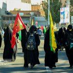 کاروان جاماندگان مسیر عشق در تبریز + گزارش تصویری