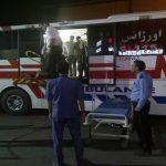 برخورد اتوبوس به خاکریز در تاکستان با ۵۵ مصدوم